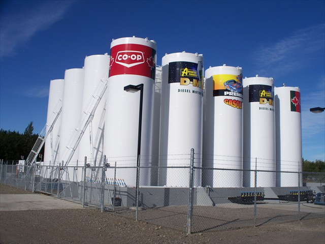CO-OP Vanderhoof Bulk Plant Complete