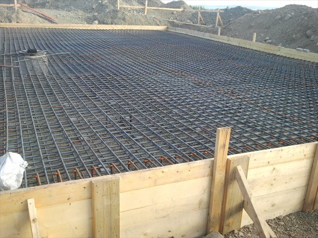 Mount Milligan double rebar for large trucks