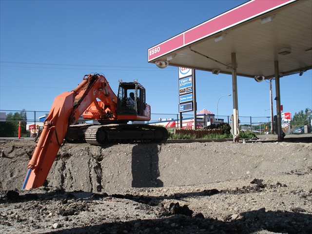 College Heights Esso Tanks